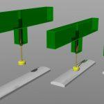 Gas strut mount concept